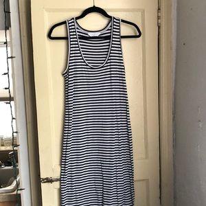 Everlane Striped Maxi Dress